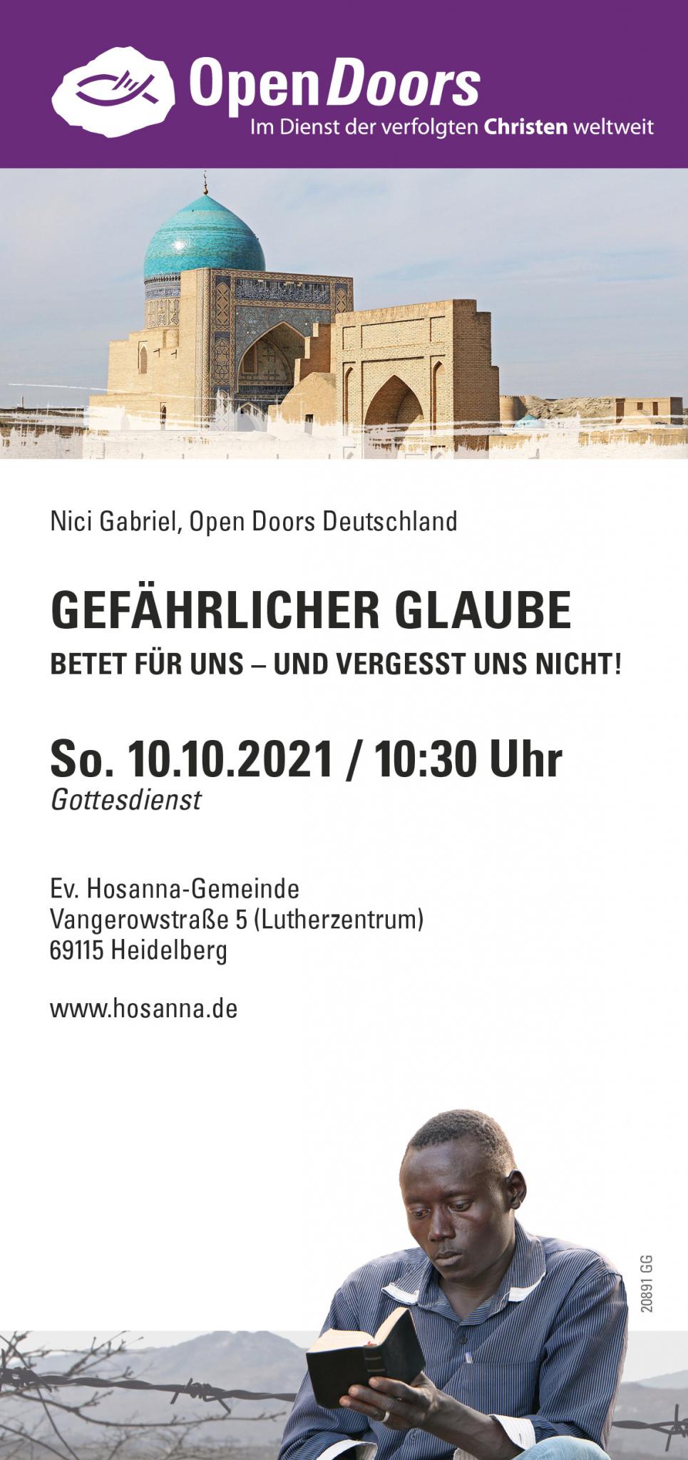 Open Doors Flyer
