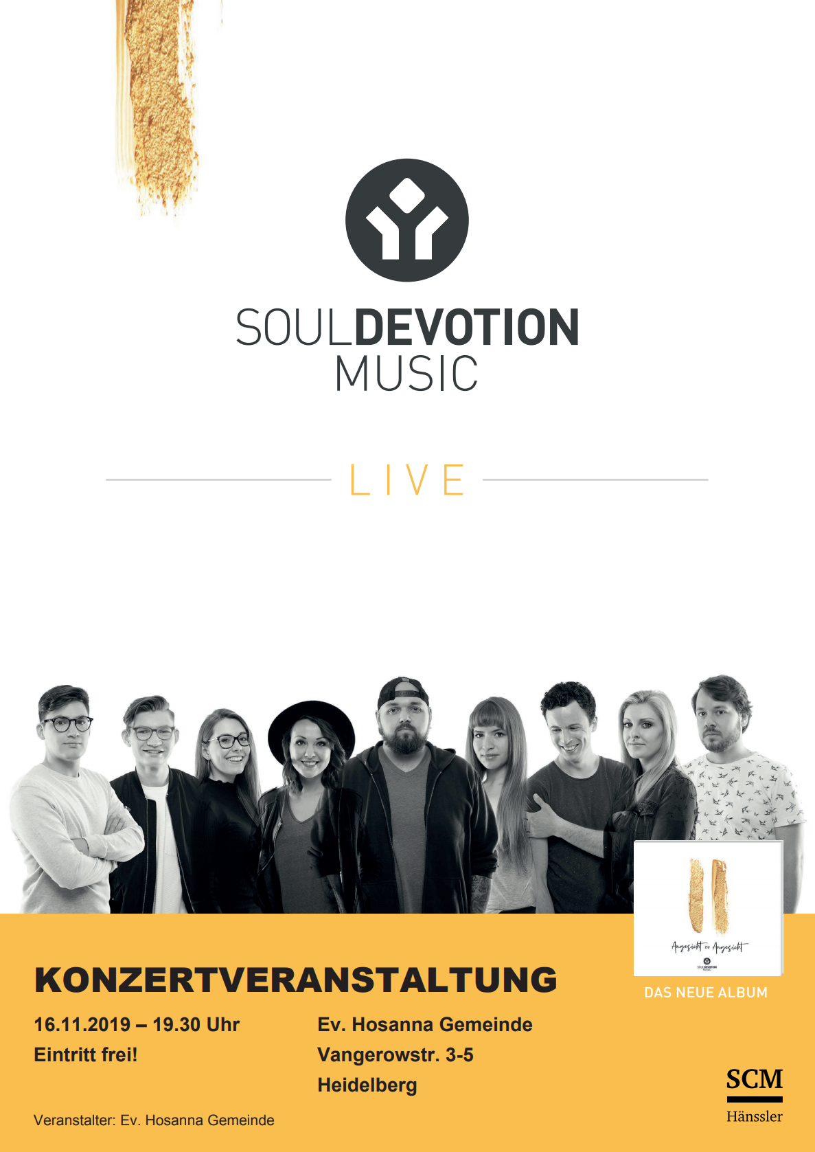 Soul Devotion Plakat