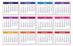 Jahreskalendar